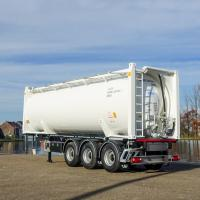 30 ft silo container on a LAG containerchassis