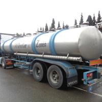 Stainless steel tanker - Before picture